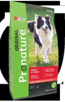 Pronature Original 22 Classic, корм для собак всех пород с Ягненком / Pronature (Канада)