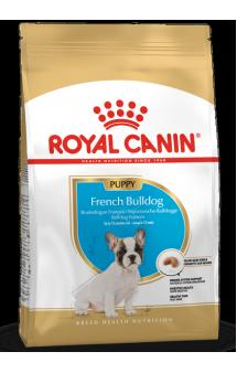 French Bulldog puppy, корм для щенков Французского бульдога / Royal Canin (Франция)