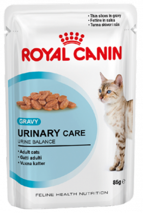 Urinary Care, влажный корм для кошек при МКБ, в соусе / Royal Canin (Франция)