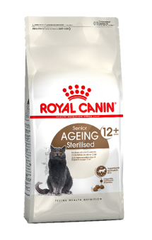 Ageing STERILISED 12+,корм для пожилых стерилизованных кошек / Royal Canin (Франция)