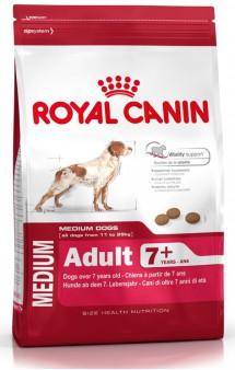 MEDIUM Adult 7 + / Royal Canin (Франция)