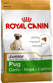 PUG Junior / Royal Canin (Франция)