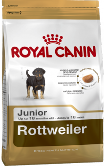 Rottweiler junior,корм для щенков Ротвейлера / Royal Canin (Франция)