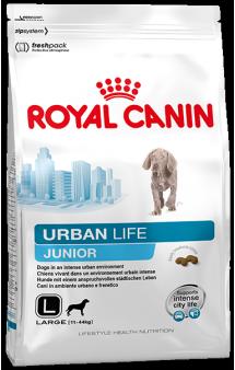 URBAN Junior Large dog, корм для щенков собак крупных размеров / Royal Canin (Франция)