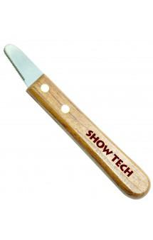 Show Tech 3200 XFine Stripping Knife, тримминговочный нож для мягкой шерсти / Show Tech (Бельгия)