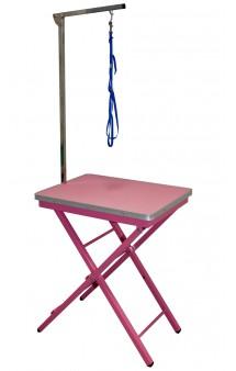 Groom-X Ringside Table Pink, грумерский стол, розовый / Show Tech (Бельгия)