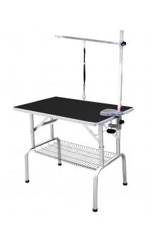 SS Grooming Table Black, грумерский стол с полкой / Show Tech (Бельгия)