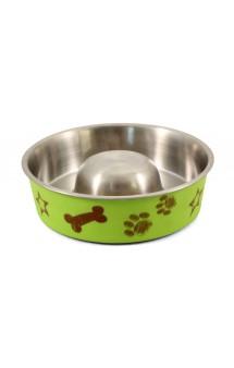Slow feed bowl, миска «Косточка» / Triol (Китай)