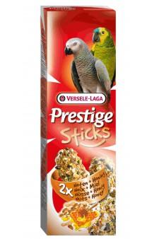 Prestige Sticks, палочки с орехами и медом для крупных попугаев / Versele-Laga (Бельгия)