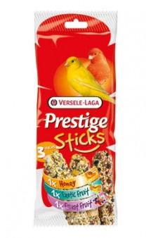 Prestige Sticks Mix, палочки с медом, фруктами и ягодами, для канареек / Versele-Laga (Бельгия)