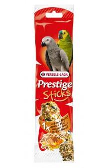 Prestige, палочка с орехами и медом для крупных попугаев / Versele-Laga (Бельгия)