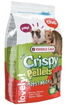 Crispy Pellets Rats and Mice, корм гранулированный для крыс и мышей / Versele-Laga (Бельгия)
