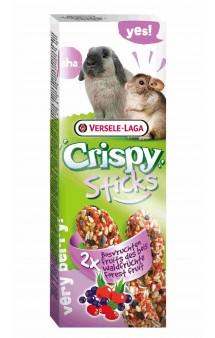 Crispy, палочки с лесными ягодами для кроликов и шиншилл / Versele-Laga (Бельгия)