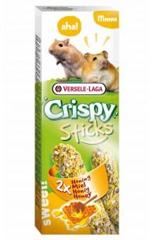 Crispy, палочки с медом для хомяков и песчанок / Versele-Laga (Бельгия)