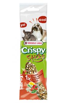 Crispy, палочки с травами для кроликов и шиншилл / Versele-Laga (Бельгия)