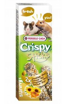Crispy, палочки с подсолнечником и медом для мышей и песчанок / Versele-Laga (Бельгия)