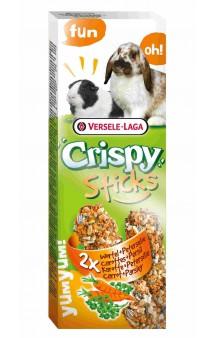 Crispy, палочки с морковью и петрушкой для кроликов и морских свинок / Versele-Laga (Бельгия)
