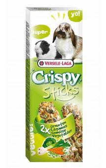 Crispy, палочки с овощами для кроликов и морских свинок / Versele-Laga (Бельгия)