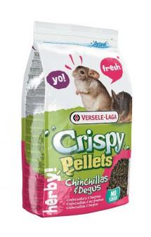 Crispy Pellets Chinchillas and Degus, корм для шиншилл и дегу, гранулированный / Versele-Laga (Бельгия)