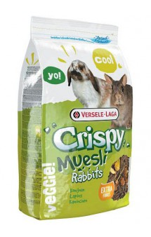 Crispy Muesli Rabbits, корм для кроликов / Versele-Laga (Бельгия)