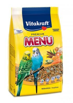 Menu Vital - основной корм для волнистых попугайчиков / Vitakraft (Германия)