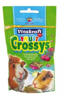 Fruit Crossys Лесные Ягоды - подушечки для грызунов / Vitakraft (Германия)