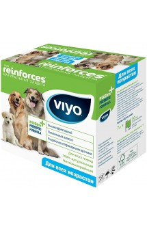 Viyo Reinforces All Ages Dog, пребиотический напиток для собак всех возрастов / VIYO (Бельгия)
