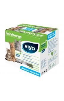 Viyo Reinforces All Ages Cat, пребиотический напиток для кошек всех возрастов / VIYO (Бельгия)
