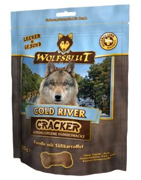 Cold River, Холодная река, крекеры для собак c Форелью и картофелем / Wolfsblut (Германия)