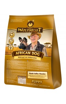 Wolfsblut African Dog Puppy, корм Африканская Собака, для щенков / Wolfsblut (Германия)