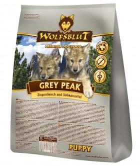 Wolfsblut Grey Peak PUPPY, Седая вершина корм для щенков с Козлятиной / Wolfsblut (Германия)