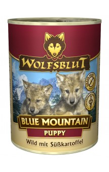 Wolfsblut Blue Mountain Puppy, Голубая гора, консервы для щенков с мясом Оленя и Бататом / Wolfsblut (Германия)