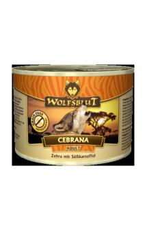 Wolfsblut Cebrana Adult, консервы для взрослых собак с мясом зебры / Wolfsblut (Германия)