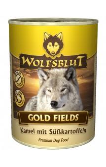 Wolfsblut Gold Fields, Золотые поля, консервы для собак с мясом Верблюда и Бататом / Wolfsblut (Германия)