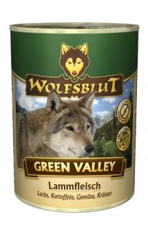 Wolfsblut Green Valley, Зеленая долина, консервы для собак с Ягненком, Лососем и Картофелем / Wolfsblut (Германия)
