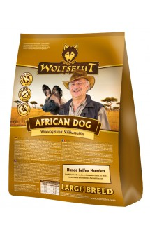 Wolfsblut African Dog Large Breed, Африканская собака, корм для крупных пород / Wolfsblut (Германия)