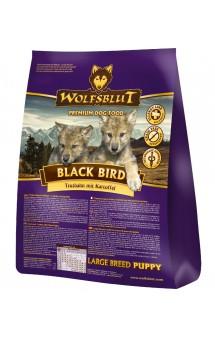 Wolfsblut Black Bird Puppy Large breed, корм Черная птица, для щенков крупных пород / Wolfsblut (Германия)