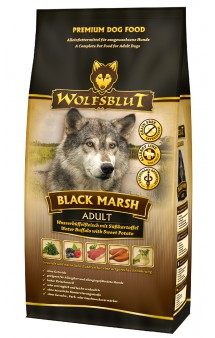 Wolfsblut Black Marsh, Черное болото, корм для собак с мясом Буйвола и Тыквой / Wolfsblut (Германия)
