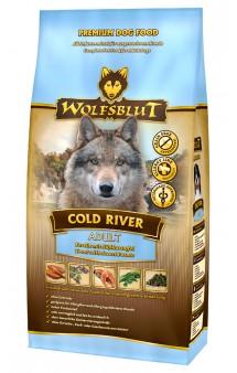 Wolfsblut Cold River, Холодная река, корм для собак с Форелью и Бататом / Wolfsblut (Германия)