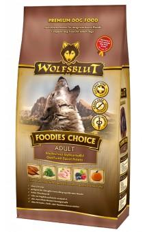 Wolfsblut Foodies Choice Adult, Выбор гурмана, корм для собак с Перепелкой и бататом / Wolfsblut (Германия)