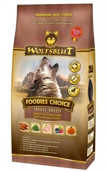 Wolfsblut Foodies Choice Small Breed, Выбор гурмана, корм для собак мелких пород, с Перепелкой и бататом / Wolfsblut (Германия)