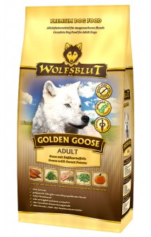 Wolfsblut Golden Goose Adult, Золотой гусь, корм для собак с Гусем / Wolfsblut (Германия)
