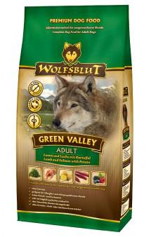 Wolfsblut Green Valey, Зеленая долина, корм для собак с Ягненком, Лососем / Wolfsblut (Германия)