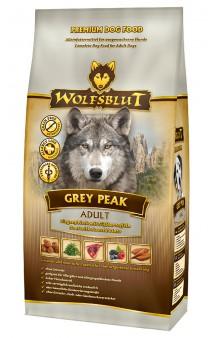 Wolfsblut Grey Peak ADULT, Седая вершина, корм для собак с Козлятиной / Wolfsblut (Германия)