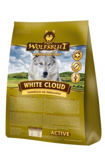 Wolfsblut White Cloud Active, Белое Облако, корм для активных собак / Wolfsblut (Германия)