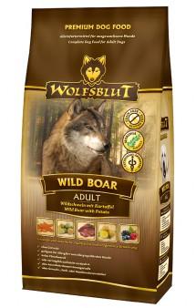 Wolfsblut Wild Boar Adult, корм для собак Дикий кабан / Wolfsblut (Германия)