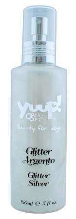 "Fashion Glitter Silver, спрей с райским ароматом и блестками ""Серебро"" для сияния шерсти / Yuup! (Италия)"