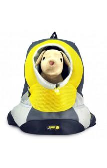 Переноска-рюкзак для собак Crazy Paws, желтый / ZIVER