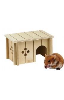 Sin, деревянный домик для мелких животных / ferplast (Италия)
