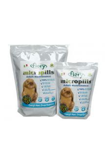 Micropills Dwarf Rabbits Корм для декоративных кроликов / fiory (Италия)